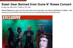 SlashGear Guns N' Roses feud reportedly turns nasty