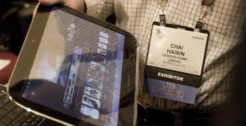 Lenovo IdeaPad U1 Hybrid notebook/tablet hands-on