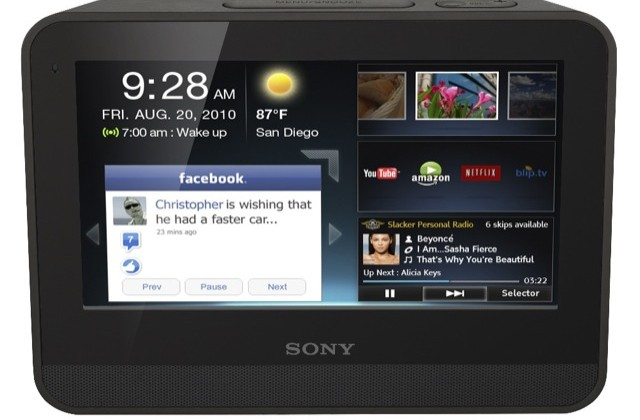 Sony dash 7-inch internet tablet gets chumby webapps