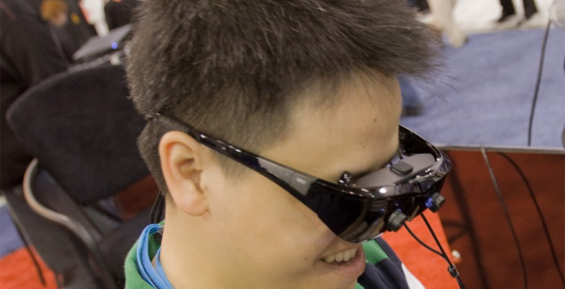 Vuzix WRAP 920AR eyewear hands-on