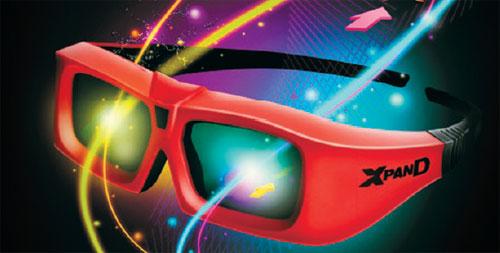 XpanD X103 active 3D glasses spied at CES