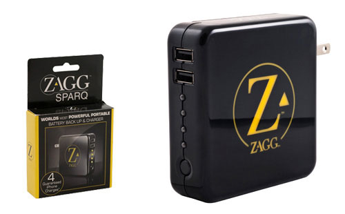 ZAGGsparq mobile battery charges any USB device