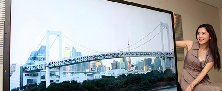 Mitsubishi's upscaling technology converts 1080p into 4K by 2K resolution