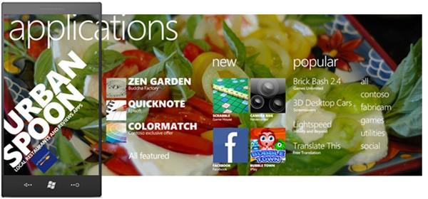 Windows Phone 7 Marketplace design revealed