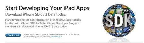 "iPhone SDK 3.2 beta: ""Start Developing Your iPad Apps"""