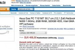 ASUS Eee PC T101MT shows up for preorder in Germany
