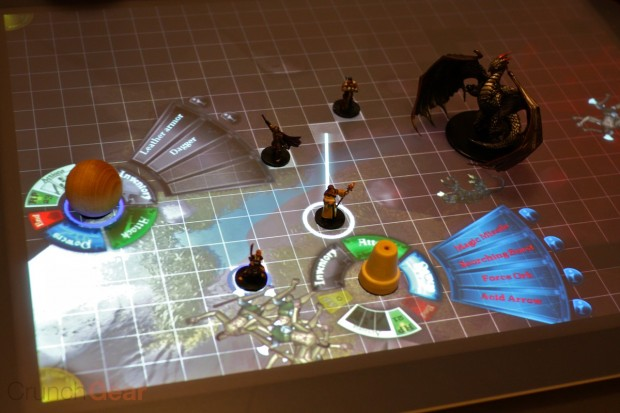 D&D demoed on Microsoft Surface [Video]