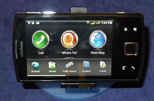 Garmin-Asus nuvifone A50 hands-on