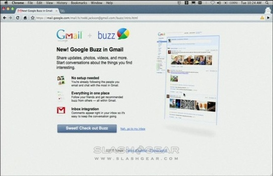 Google Buzz takes sharing realtime [Updated: Video]