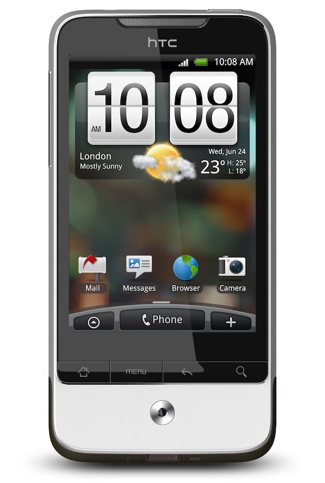"""HTC Legend official: AMOLED & """"Hidden Power"""" design - SlashGear"""