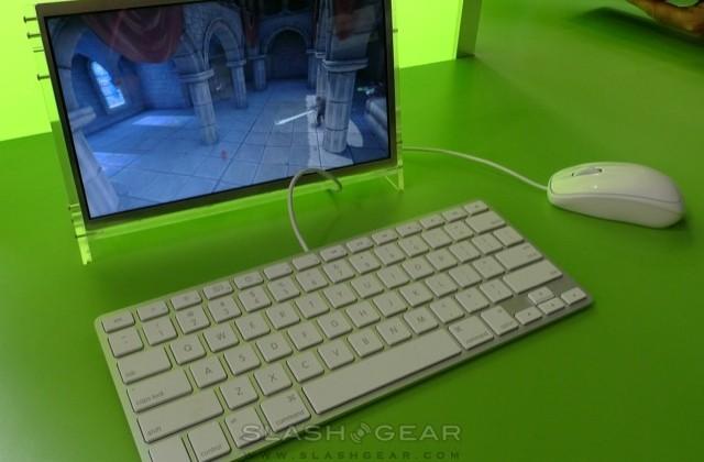 NVIDIA demo digital mag & Farmville on Tegra tablet