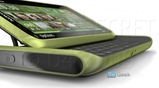 Nokia N98 QWERTY-style slider leaked?