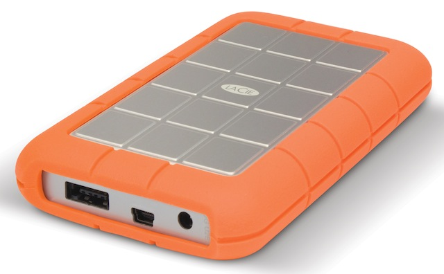 LaCie Rugged eSATA 500GB hard-drive on sale
