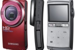 Samsung HMX-U20 and U15 Full HD point-&-shoot camcorders