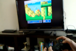 PS3 Sixaxis controller hooked up to N900, plays emulated SNES games