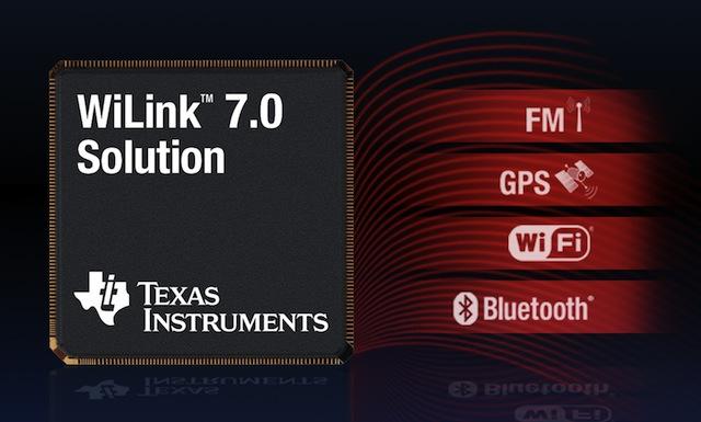 TI WiLink 7.0 packs WiFi-N, Bluetooth 3.0, FM & GPS onto single chip