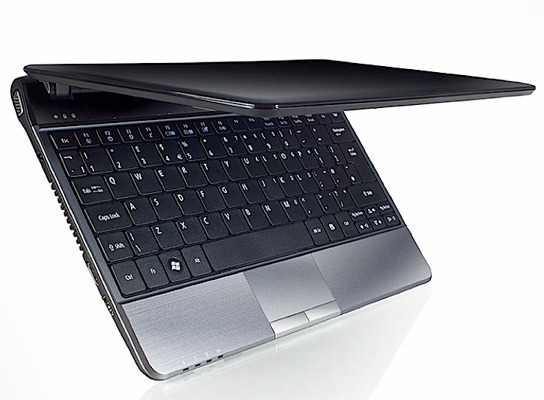 Acer 1.9cm-thick ultrathin notebook tipped