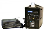 AmpliVox unveils portable iPod Wireless SW720 PA System