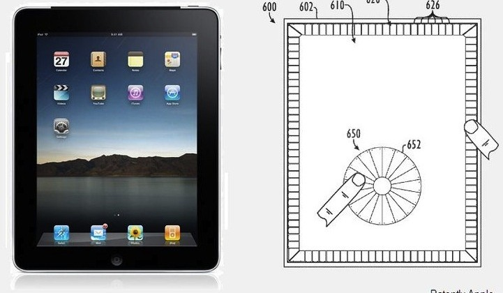 Apple patent suggests iPad bezel touch-controls