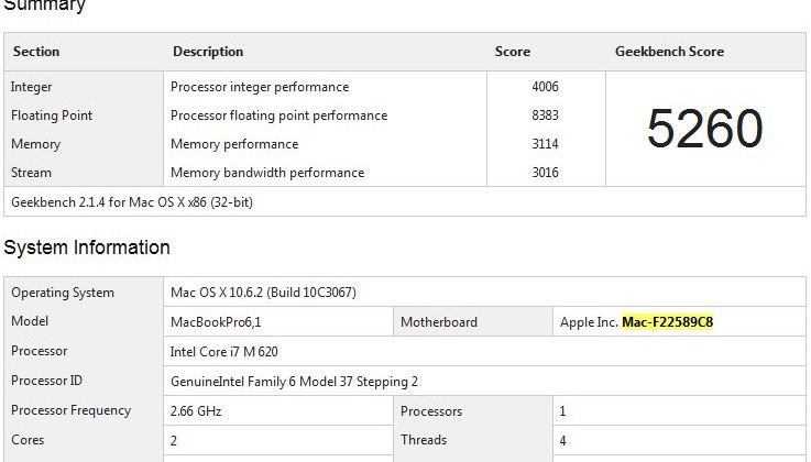 Core i7 MacBook Pro benchmark tips incoming Apple refresh?