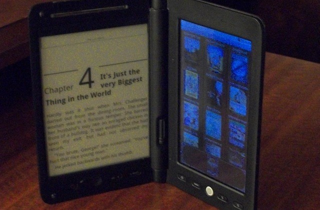 Astri MyID dual-display ebook reader gets video demo; $130-$150 price predicted