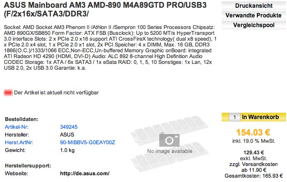 ASUS motherboards with Leo-friendly AMD 890GX chipsets spotted