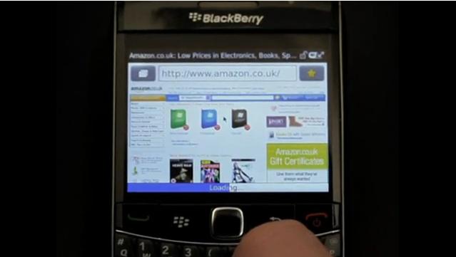 RIM's WebKit BlackBerry browser is fast, very fast [Video]