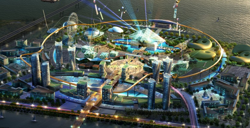 Korea to erect world's first robot-based theme park