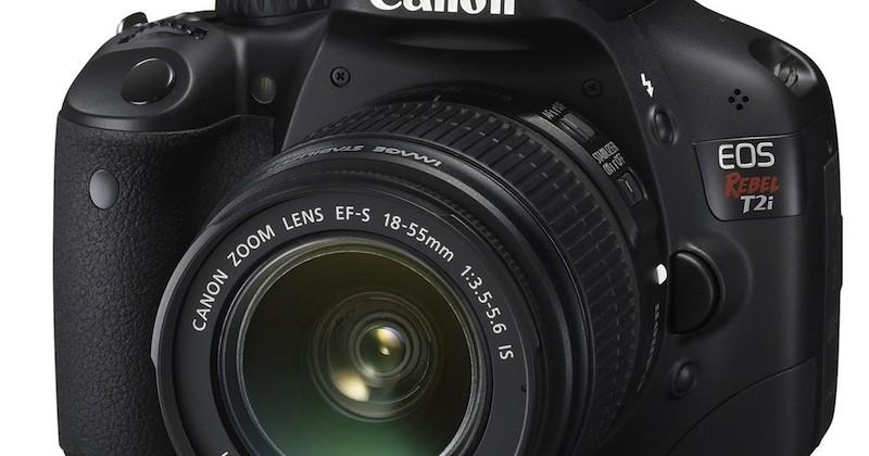 Canon Rebel T2i DSLR gets official