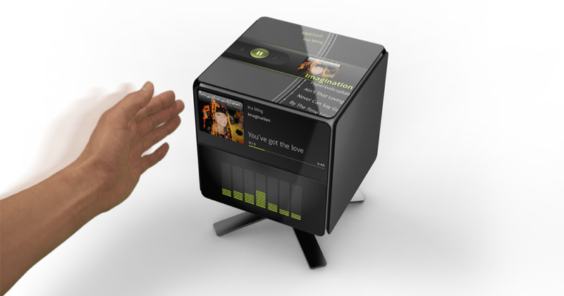 The Gesture Cube, wave your hand to activate [Video]