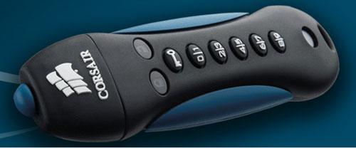 Corsair Padlock 2 flash drive packs 256-bit hardware encryption