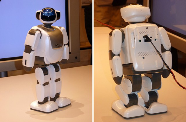Fujisoft Palro Atom-based hobby robot [Video]