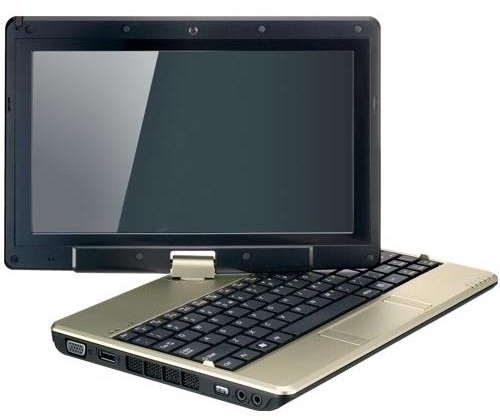 Gigabyte TouchNote T1000 netbook-tablet packs new Atom N470