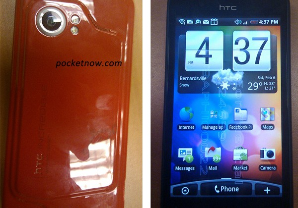 HTC Incredible for Verizon captured on camera, sports Snapdragon, Android 2.1 with Sense UI [Video]
