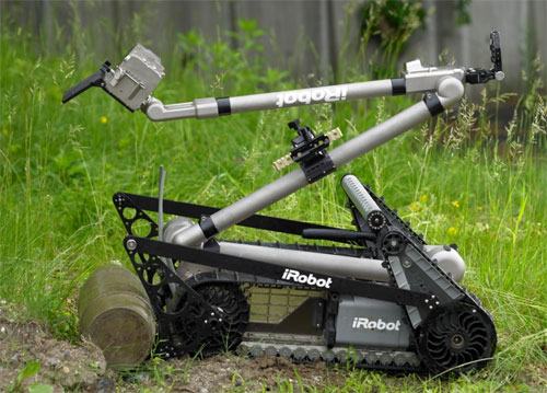 iRobot delivers 3,000th PackBot tactical mobile robot