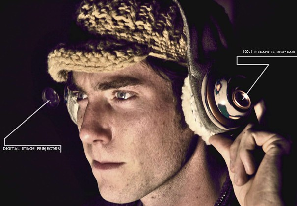 Kodak Sponsored Studio project life-blogging headset