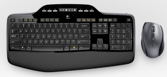 Logitech Wireless Desktop MK710 boasts 3 year battery
