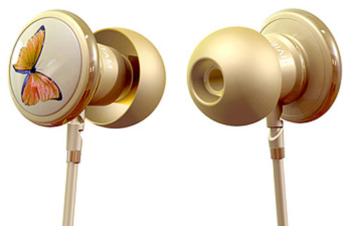 Monster teams with Vivienne Tam for Butterfly in-ear speakers
