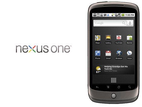 Nexus One arriving to Vodafone UK in April
