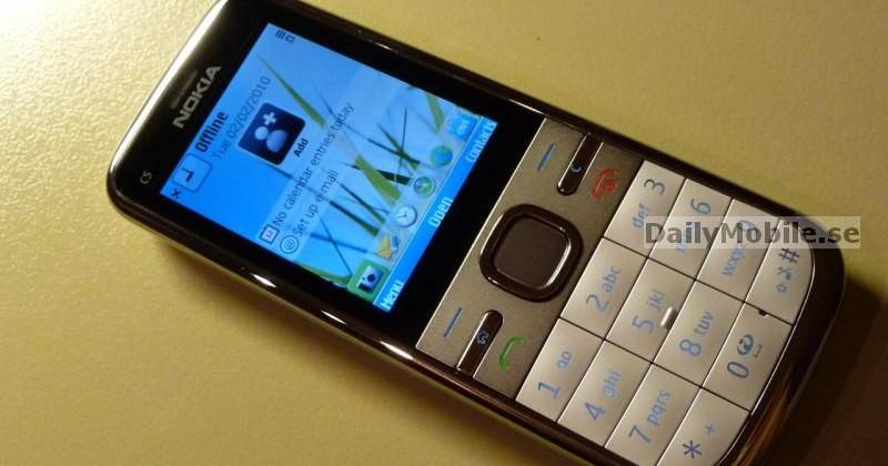Nokia C5 3G S60 handset leaks ahead of MWC 2010