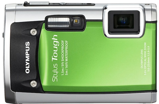 Olympus Stylus Tough 8010 and 6020 rugged digicams get tap-control
