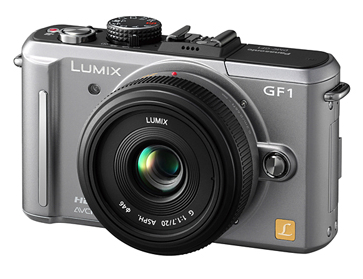 Panasonic Lumix GF1 updated with pink & silver versions