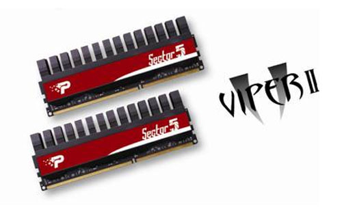 Patriot reveals new enthusiast Viper II Sector 5 RAM