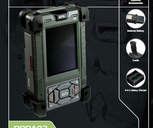 AIS Ultra Rugged Mobile PDA is military grade