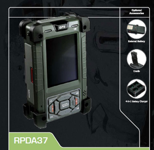 Ais Ultra Rugged Mobile Pda Is Military Grade Slashgear