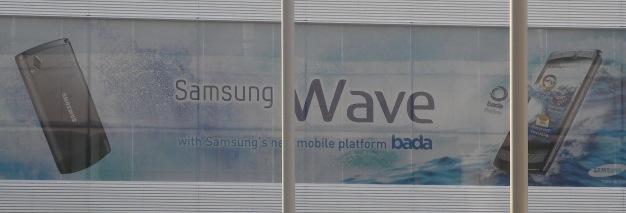 Samsung Wave Bada phone spotted already
