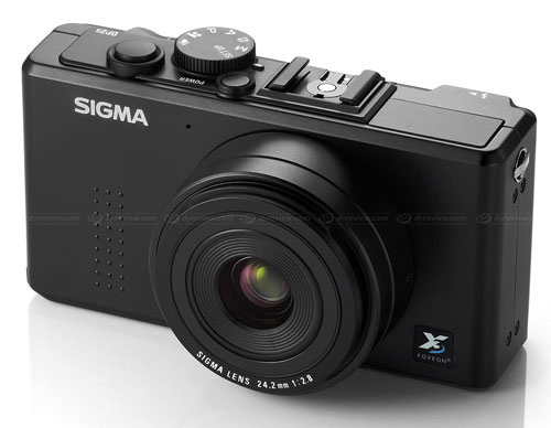 Sigma DP2s camera breaks cover at PMA 2010
