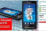 Vodafone UK getting Sony Ericsson XPERIA X10 in April