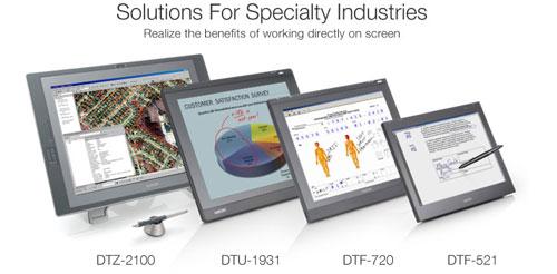 Wacom adds new DTU-2231 and DTU-1631 interactive pen displays to line