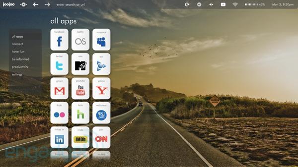 JooJoo tablet updates UI, fully-working Flash support